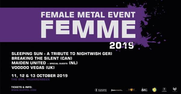 image for Voodoo Vegas confirmed for Female Metal Event 2019