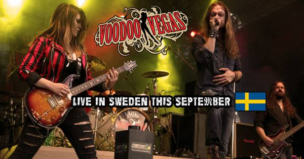 image for Voodoo Vegas Live In Sweden This September.